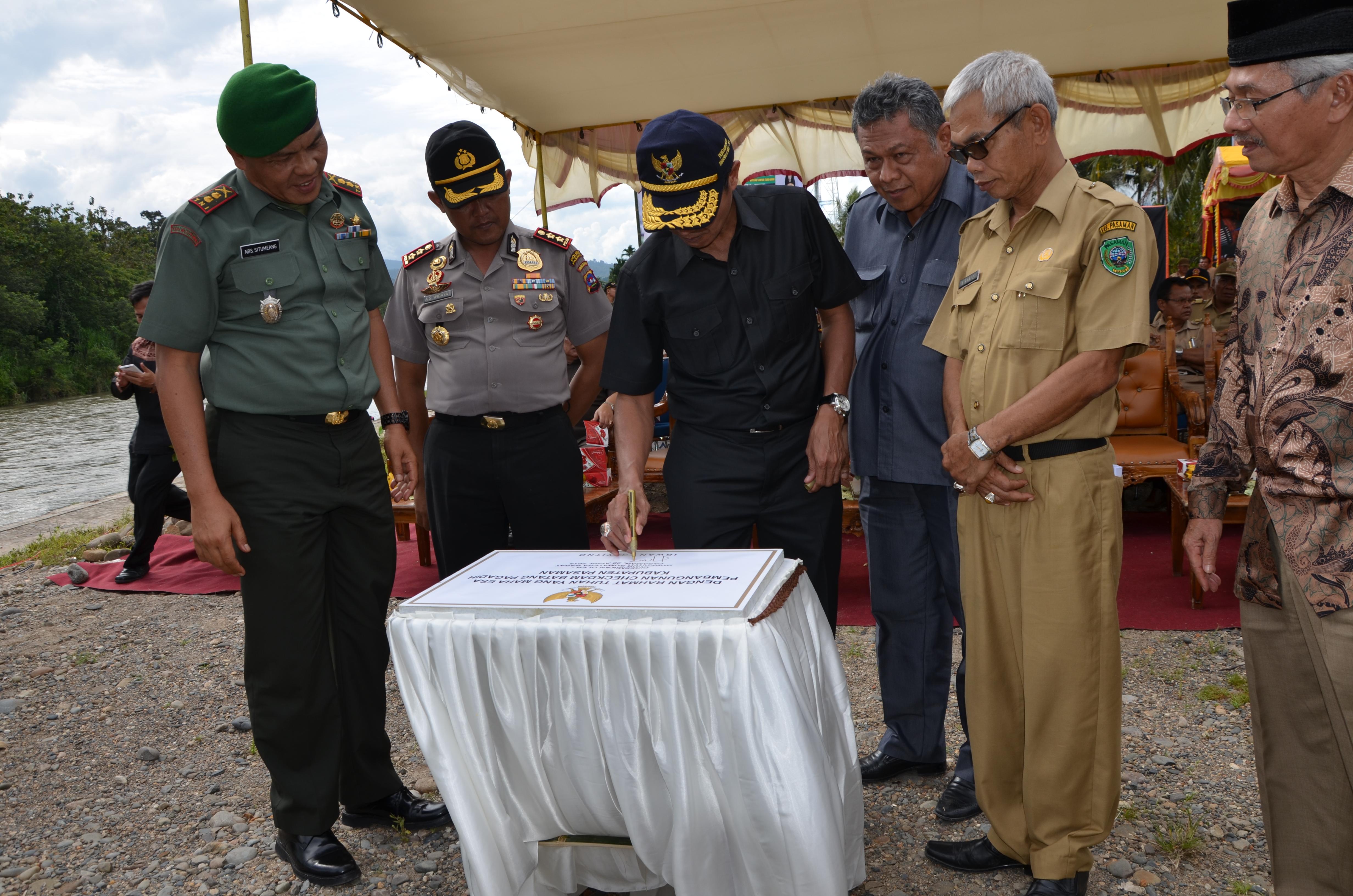 Sambutan Gubernur Sumatera Barat di Kabupaten Pasaman