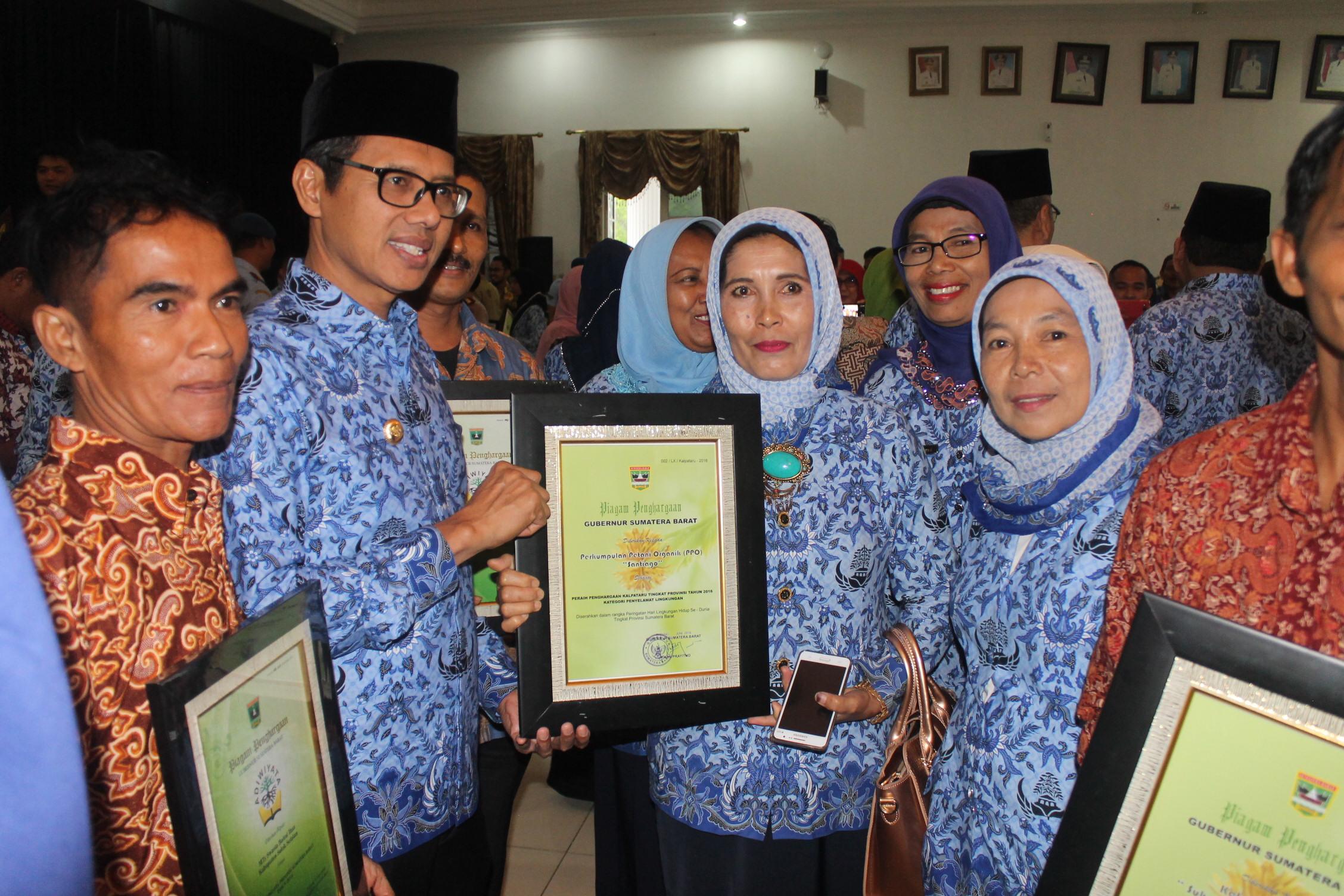 Pemenang Penghargaan Kalpataru Sumatera Barat Tahun 2016