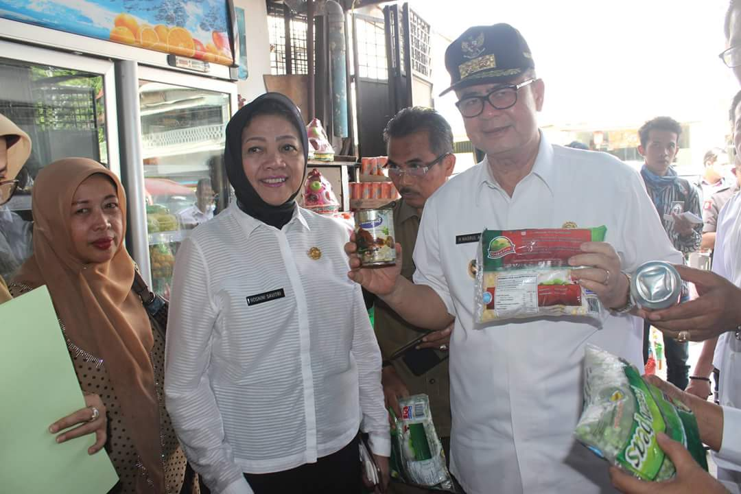 Pengawasan Makanan Minuman dan Parsel Tingkat Provinsi Sumatera Barat Tahun 2016