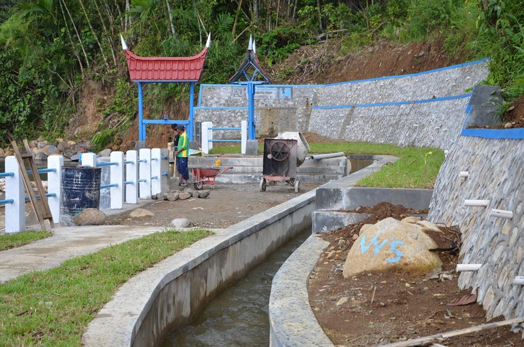 Pembangunan Bendung Irigasi Batang Gumarang