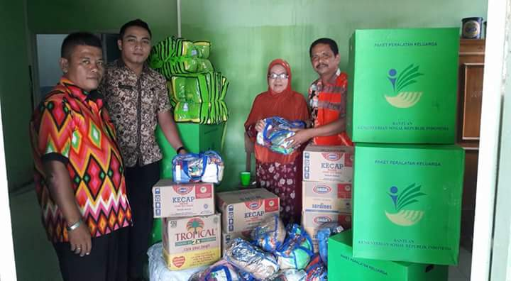 Bantuan Panti Aisyiah Lubuk Alung