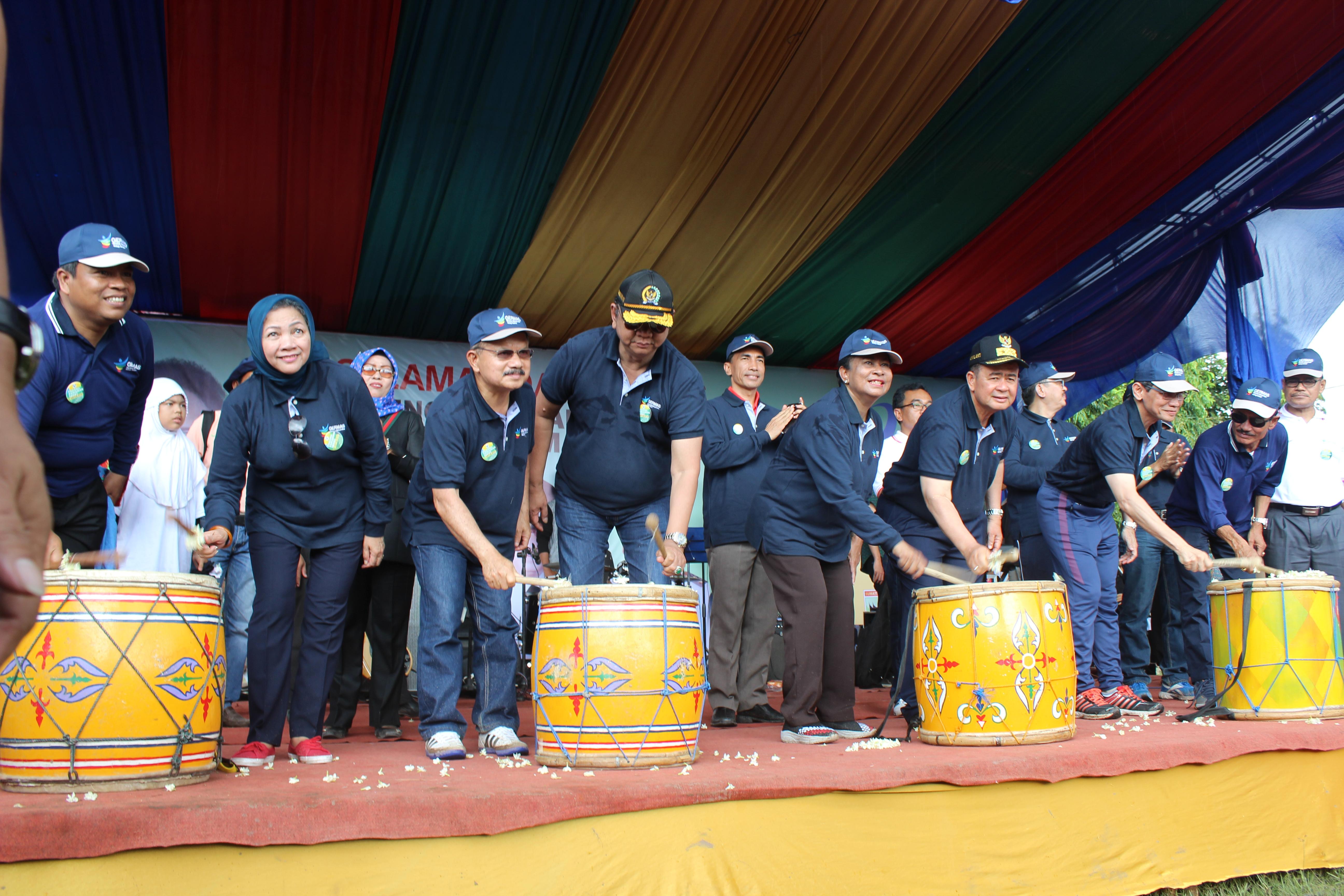Launching Germas Di Provinsi Sumatera Barat