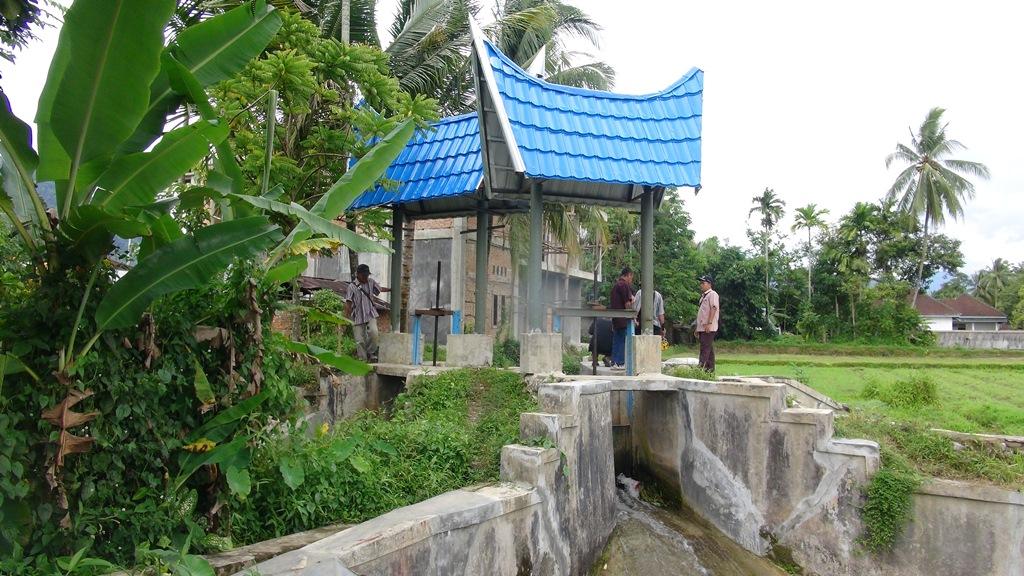Rehabilitasi Daerah Irigasi Batang Bayang Kabupaten Pesisir Selatan
