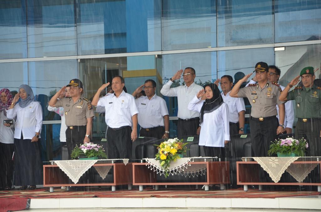 Upacara Bendera Hari Bhakti PU ke 71 di Sumatera Barat