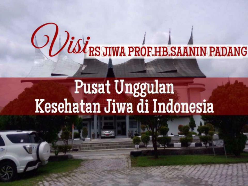 LULUS PARIPURNA AKREDITASI VERSI 2012, RS. JIWA PROF. HB. SAANIN PADANG RAIH GELAR BINTANG LIMA