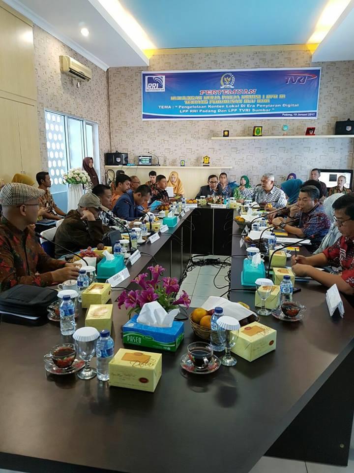 Kunjungan Kerja komisi 1 DPR RI ke Sumatera Barat
