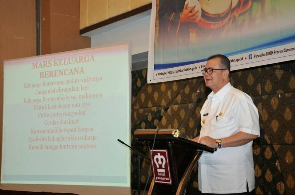 Wakil Gubernur Membuka Workshop Kesehatan Reproduksi Bagi Penggiat Seni