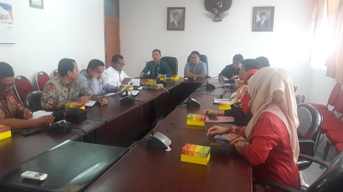 Kunjungan Kerja DPRD Kabupaten Padang Pariaman DPM&PTSP Prov. Sumbar
