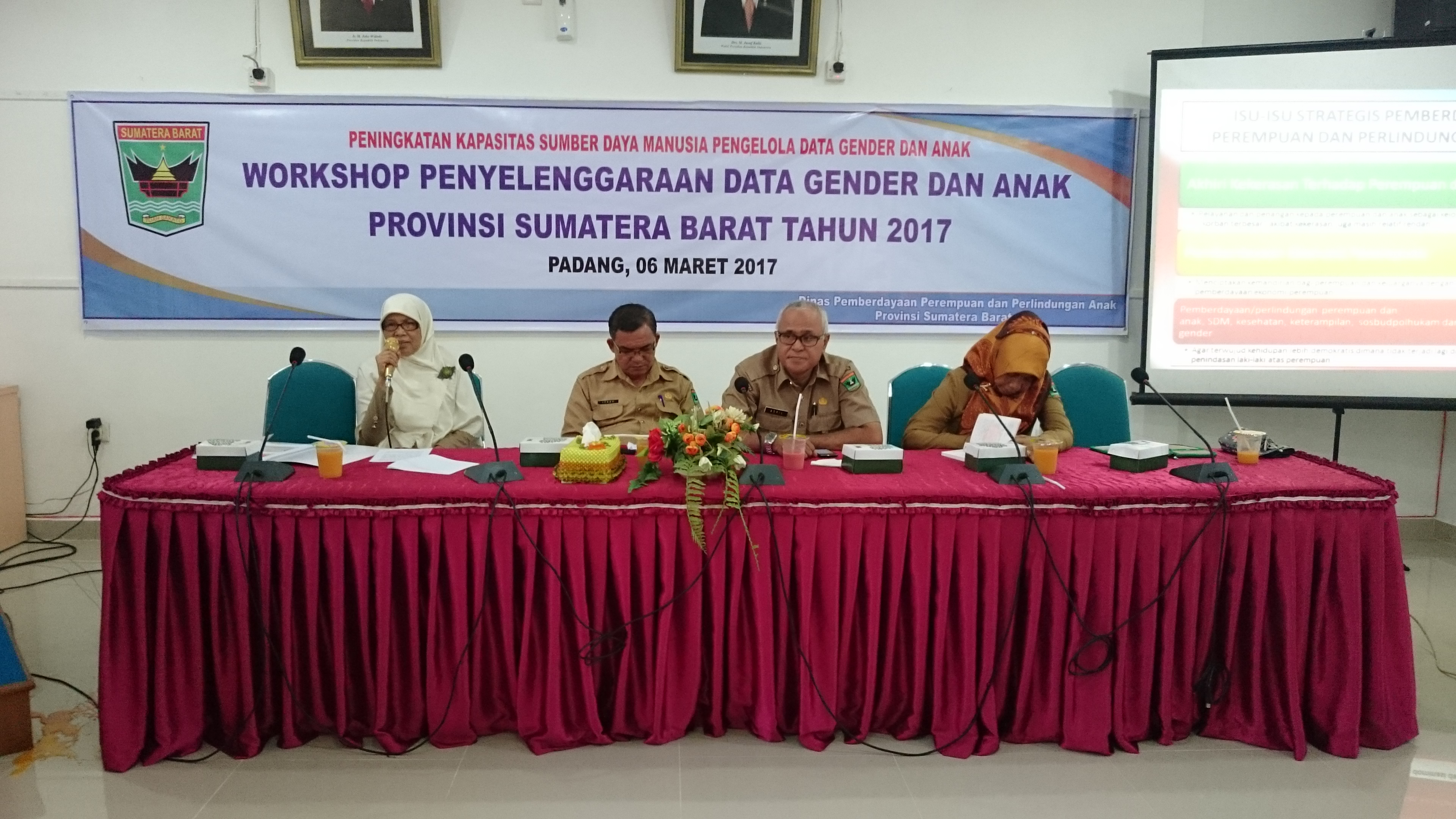 Workshop Penyelenggaraan Data Gender dan Anak