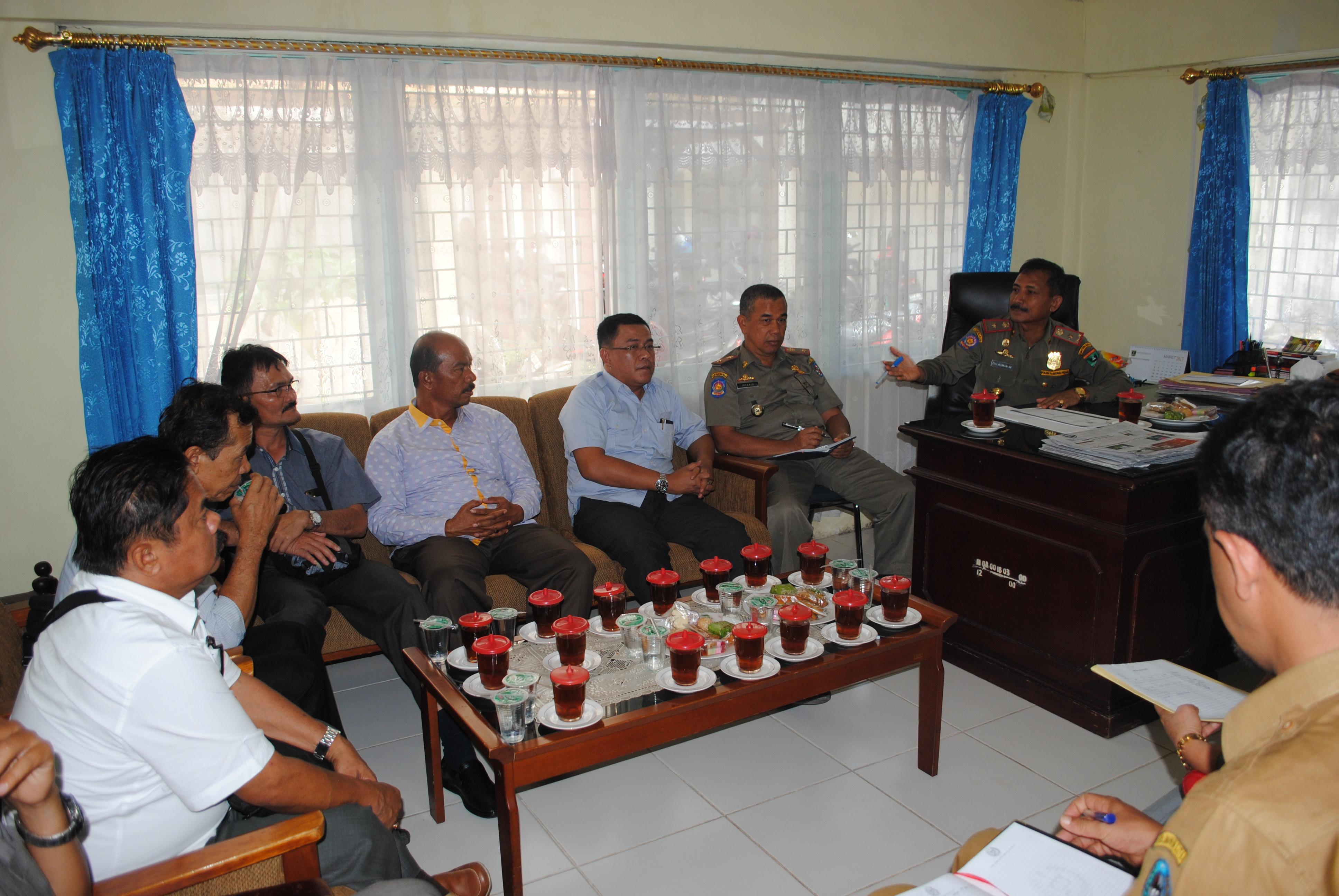 Konsultasi Pansus DPRD Kab. 50 Kota ke Satpol PP dan Damkar Prov. Sumbar
