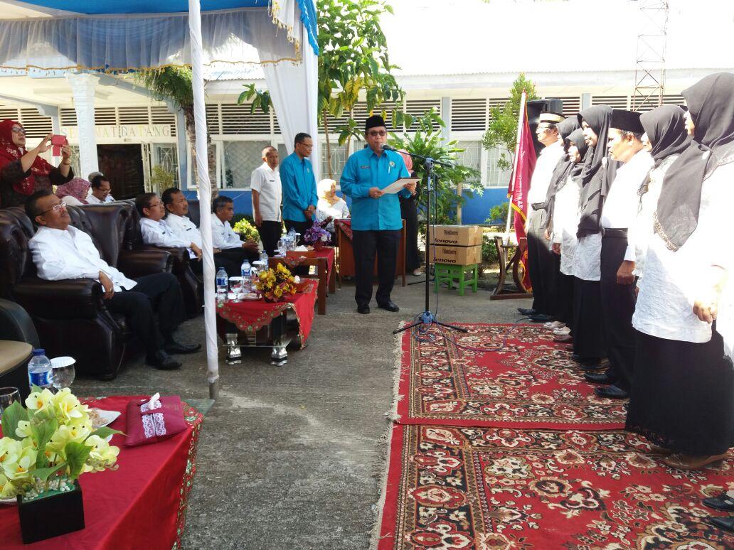 Pelantikan Pengurus Daerah Ikatan Perpustakaan Indonesia (IPI) Kabupaten Solok