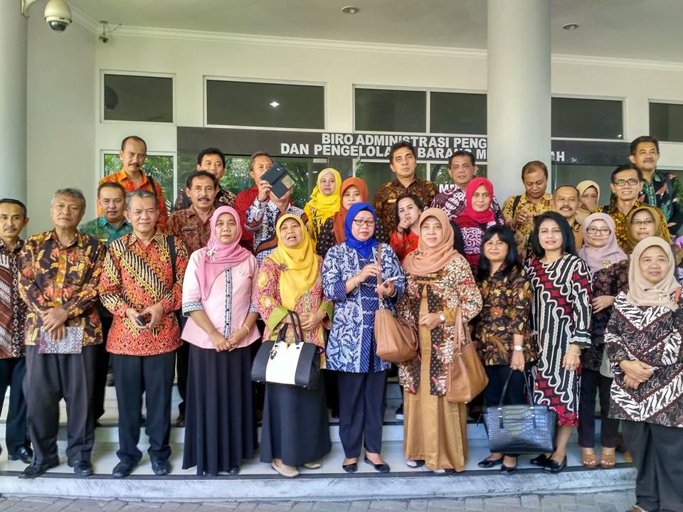 Kunjungan Kerja Pemerintah Daerah Daerah Istimewa Yogyakarta
