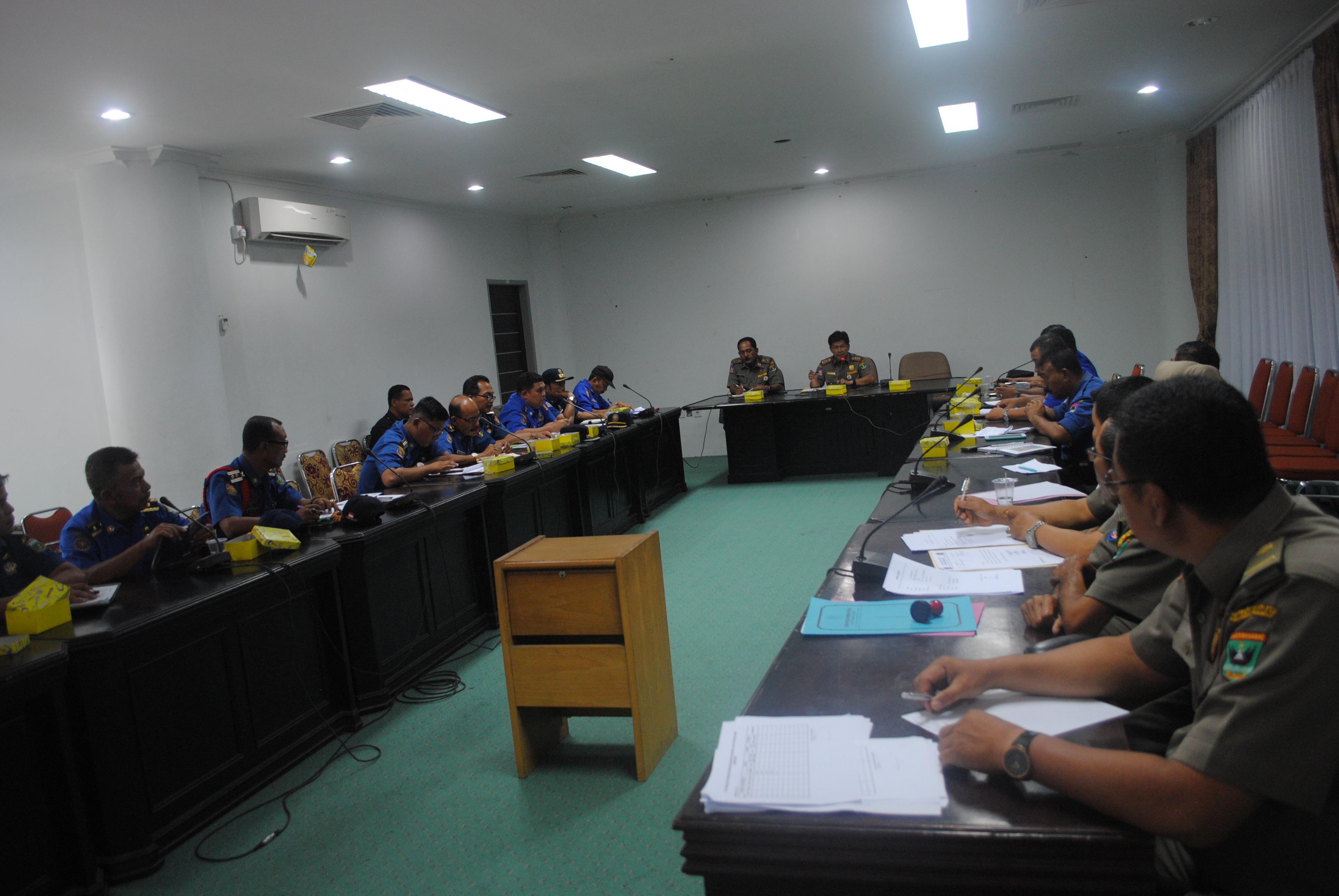 Rapat Rencana dan Program Kerja Damkar se Sumatera Barat