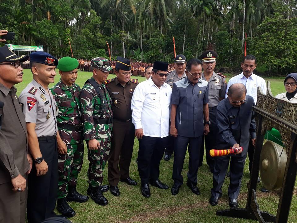 Pembukaan TMMD ke-98 Tahun 2017 di Padang Pariaman