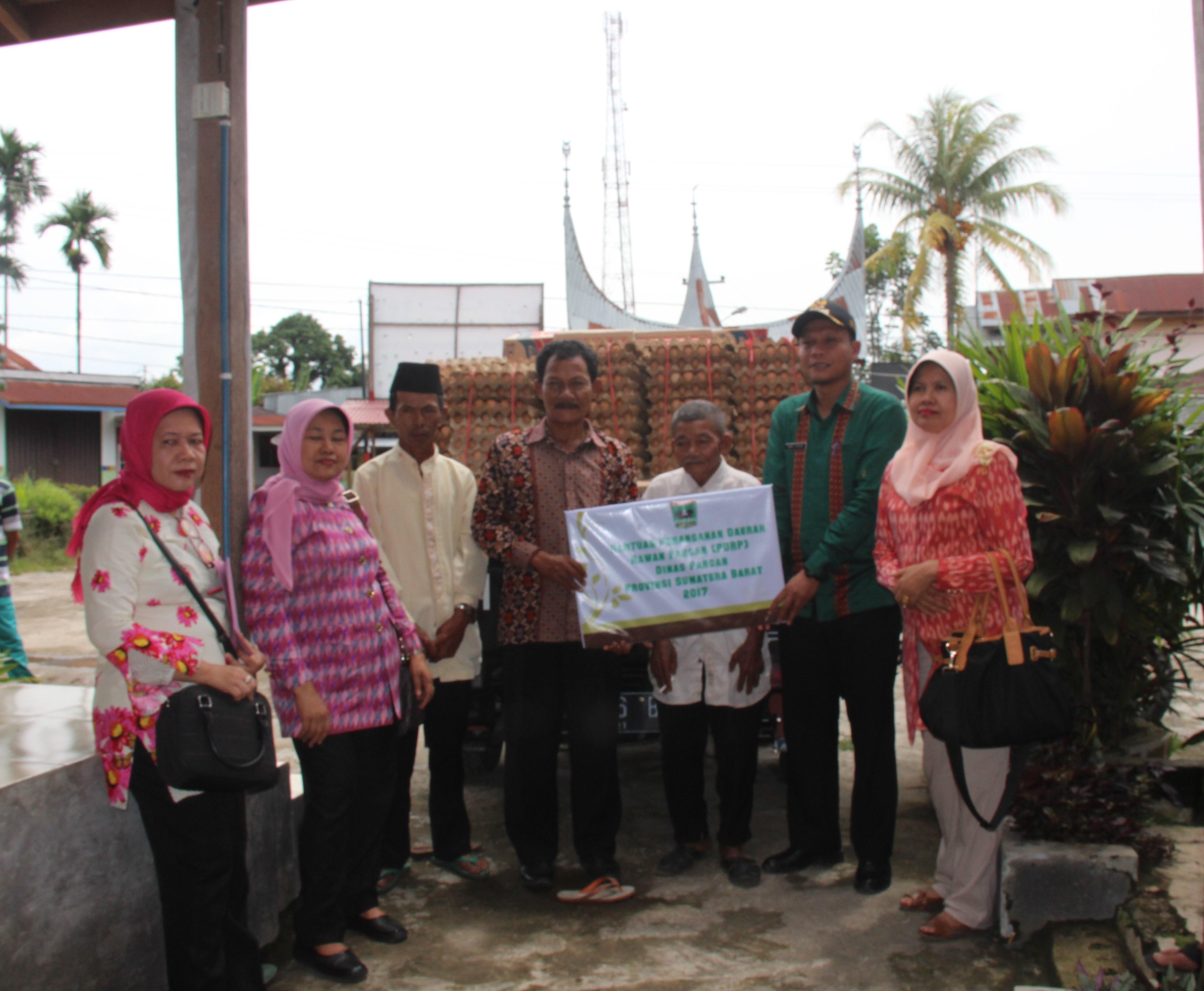 Penyerahan Bantuan untuk Korban Bencana Alam Kab. Limapuluh Kota