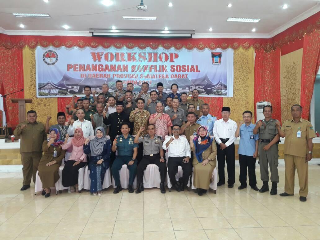 Workshop Penanganan Konflik Sosial di Sumatera Barat