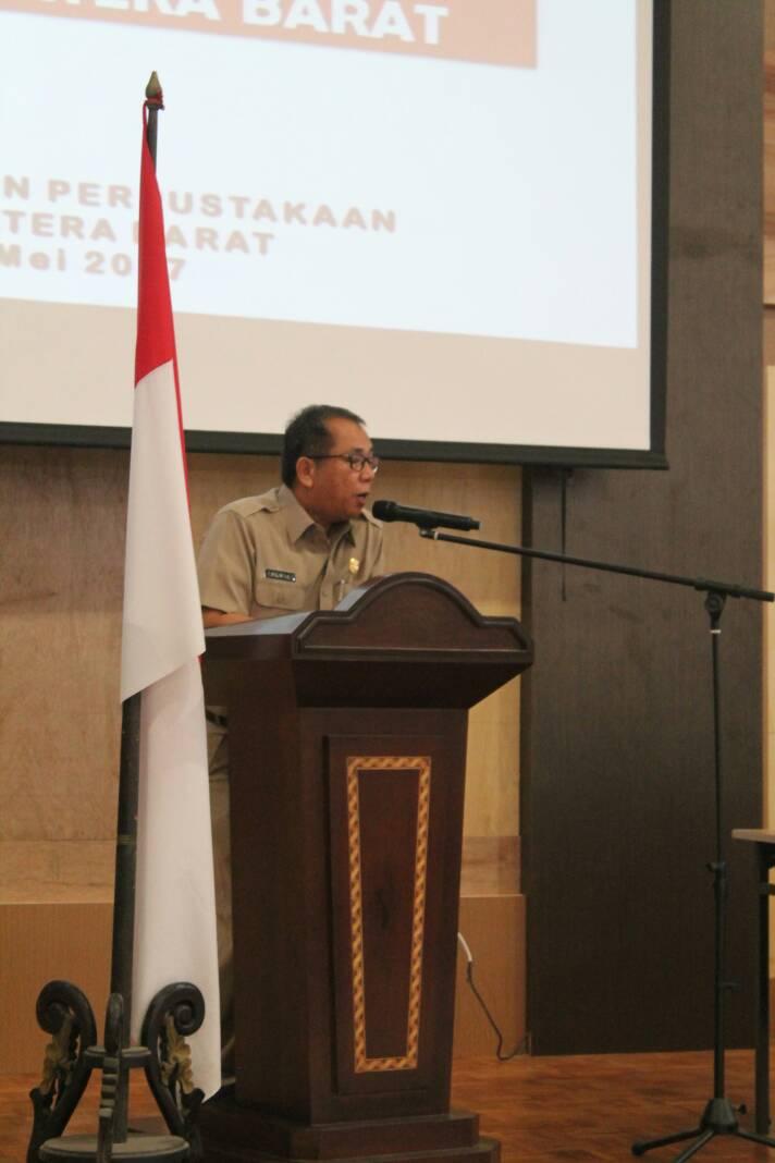 Pustakawan Sumatera Barat melakukan Uji Kompetensi dan Sertifikasi.