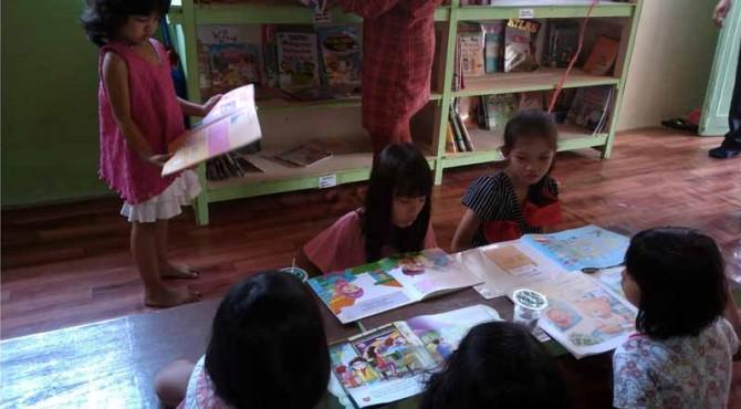 Kampung Literasi akan bagi-bagi buku ke Rumah Warga