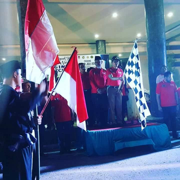 Gubernur Irwan Prayitno Melepas Napak Tilas Pahlawan Nasional Bagindo Aziz Chan