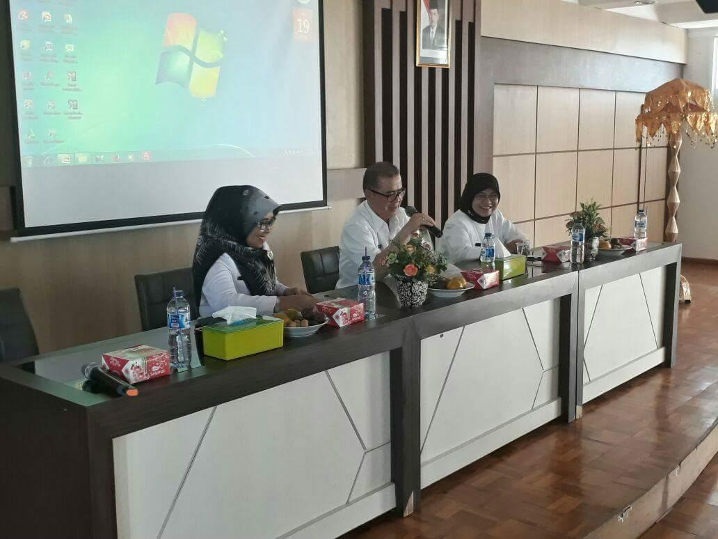 Wagub Nasrul Abit Tantang RSUD Solok Berikan Pelayanan Terbaik