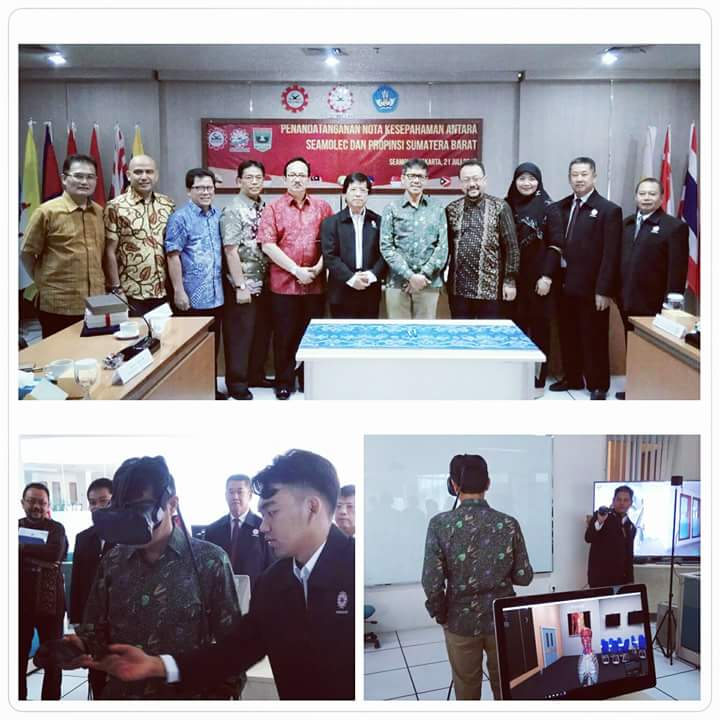 Penandatanganan Nota Kesepahaman Antara SEAMOLEC Dan Provinsi Sumatera Barat