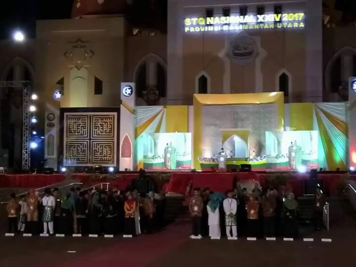 Wagub Nasrul Abit Hadiri Penutupan STQN XXIV 2017