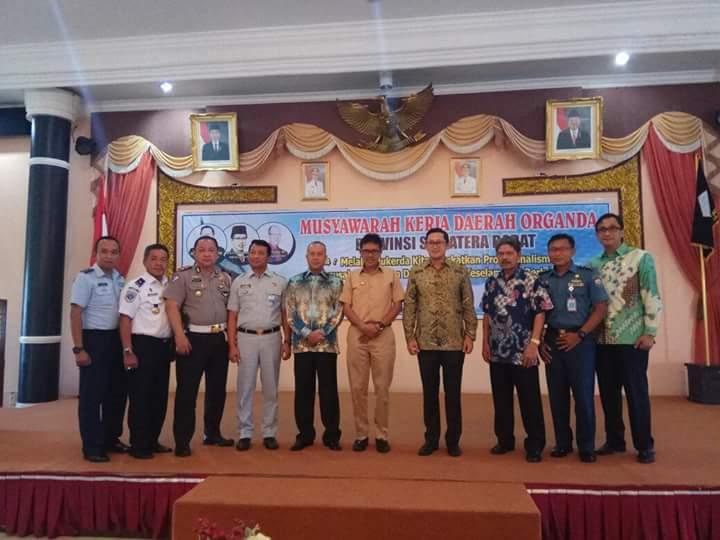 Gubernur Buka Musyawarah Kerja Daerah Organda Provinsi Sumatera Barat