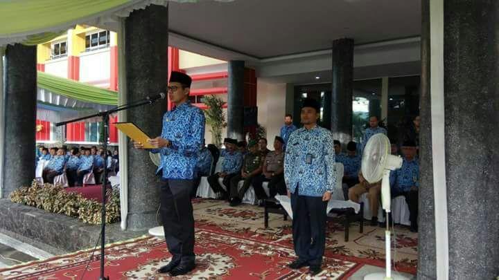 Gubernur Sumbar Ikut Upacara Peringatan Hari Lingkungan Sedunia.