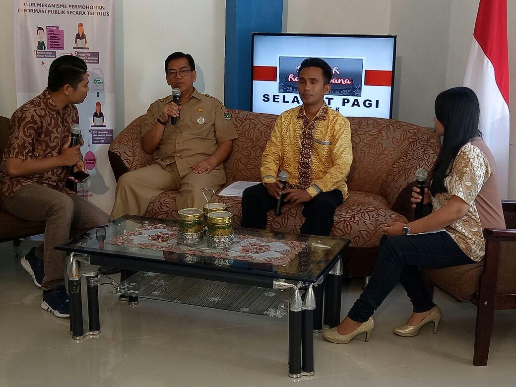Padang TV Adakan Talkshow Tentang Penguatan Kelembagaan KPID Sumbar
