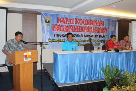 Rapat Koordinasi PKH Tingkat Provinsi Sumbar