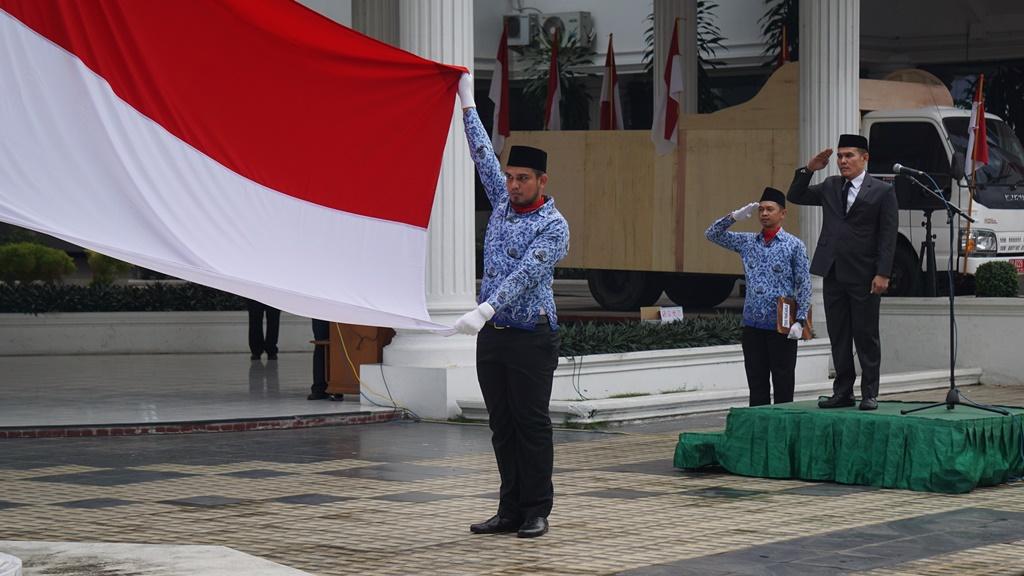 Upacara Bendera HUT ke 72 Kemerdekaan RI Tahun 2017