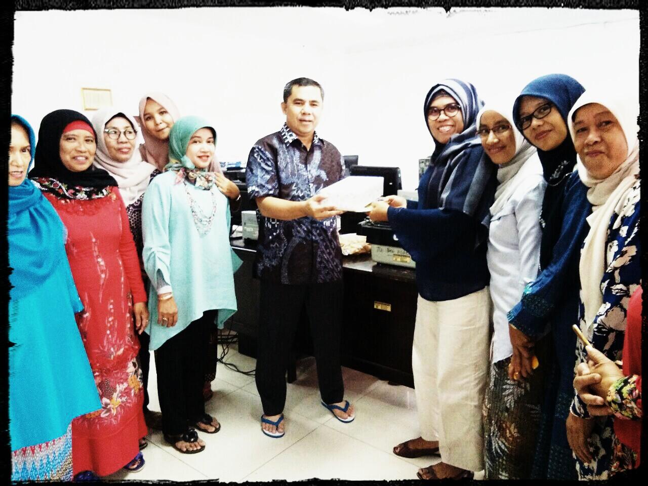Pelepasan Karyawan Biro Organisasi Menunaikan Ibadah Haji