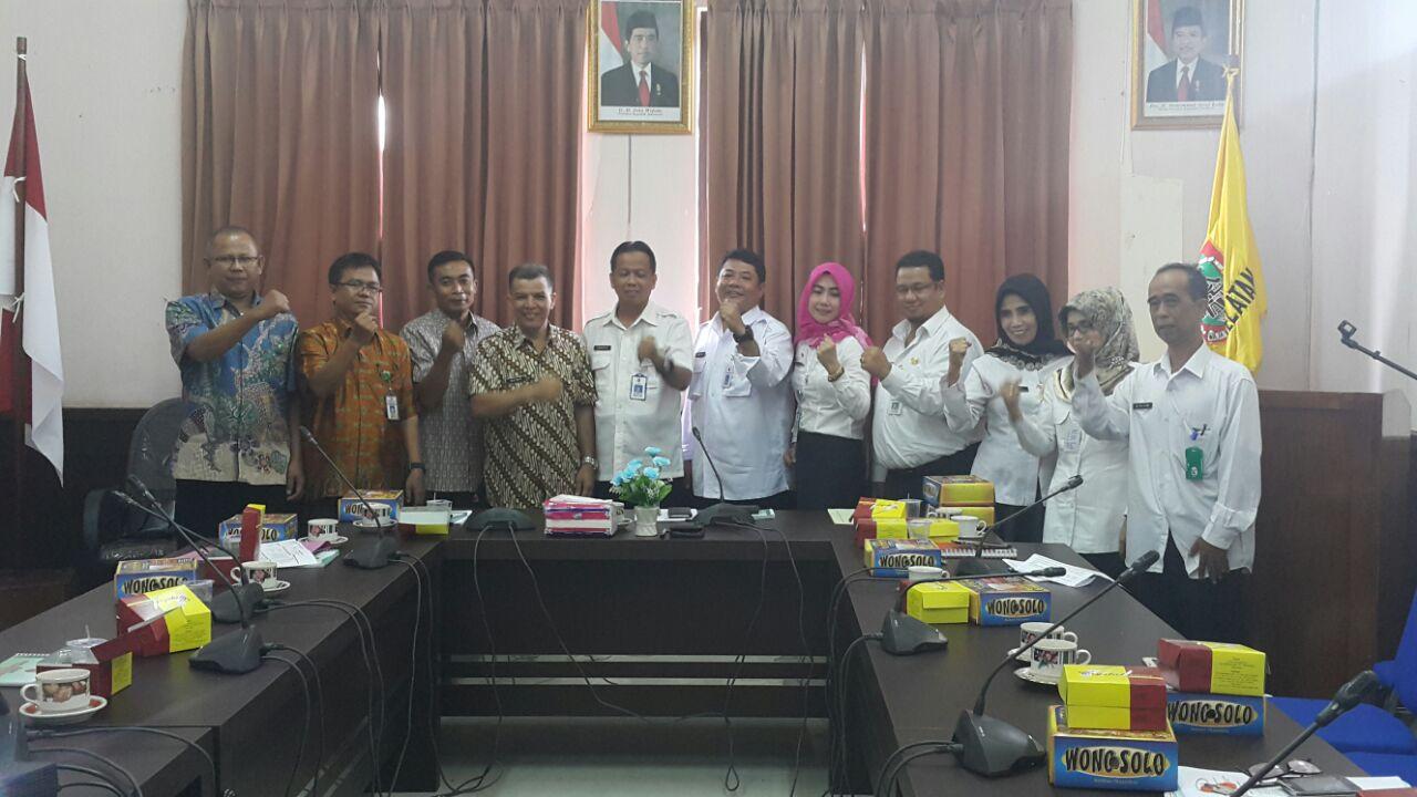 Pemprov Sumbar siapkan Ranperda Pencegahan Narkoba, Kaban Kesbangpol Sumbar kunjungi Kesbangpol Kalimantan Selatan