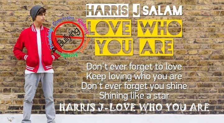 Penyanyi Harris J, sebagai Duta Internasional Anti Bullying akan hadir dipadang