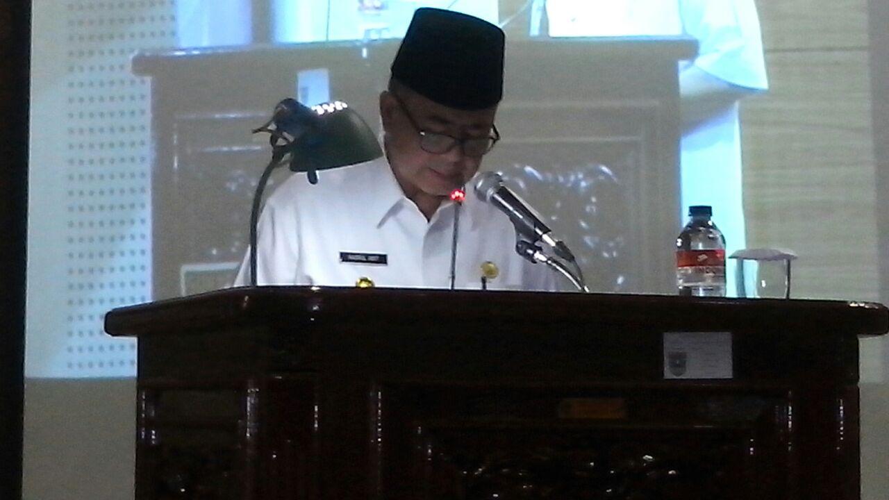 Wagub Sumbar Ajukan RAPBD Tahun 2018 Ke DPRD