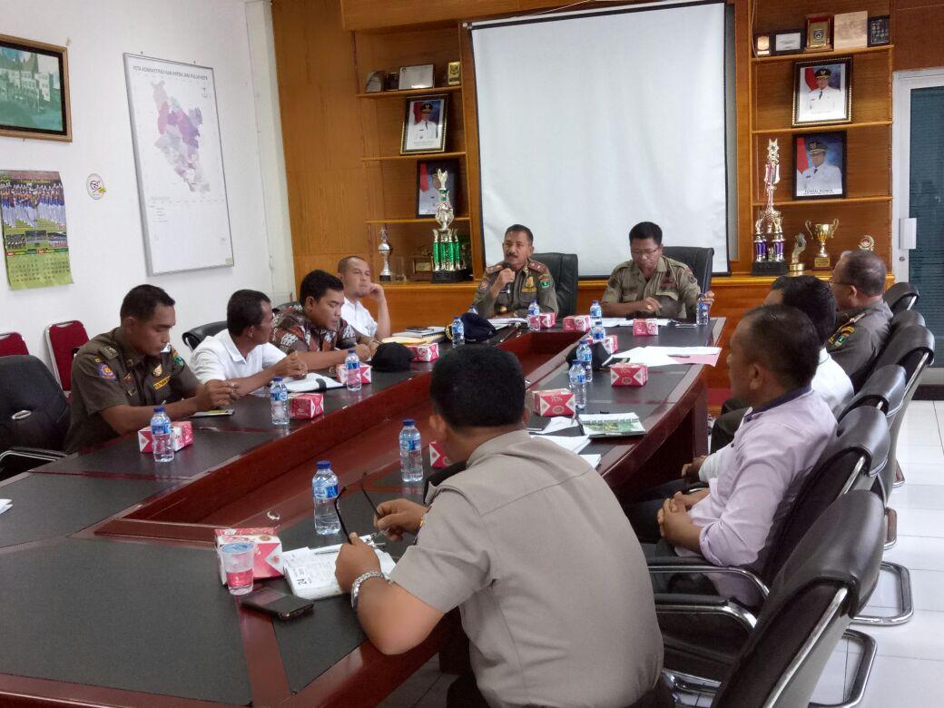 Rapat Gabungan dalam rangka Penertiban PKL di Kelok 9