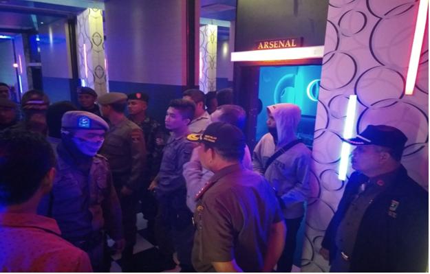 Operasi Gabungan Pemberantasan Maksiat dalam Kota Padang