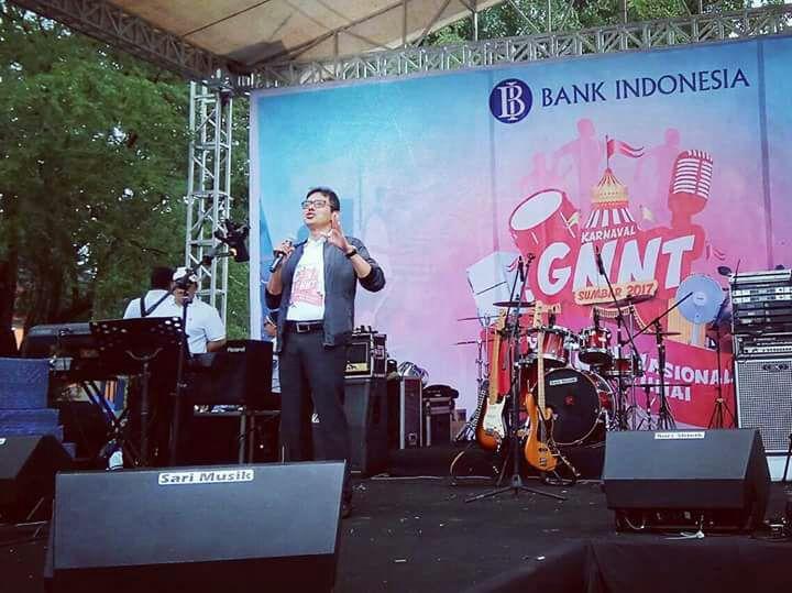 Gubernur Sumbar Meriahkan Karnaval GNNT di GOR H. Agus Salim Padang