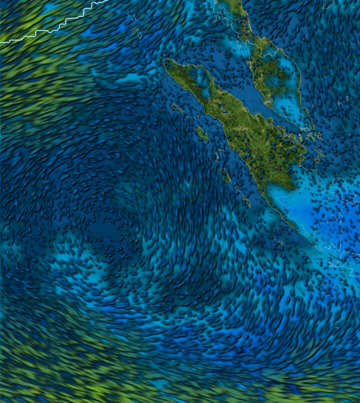 Informasi prakiraan cuaca Sumatera Barat untuk tgl 29 November -01  Desember 2017