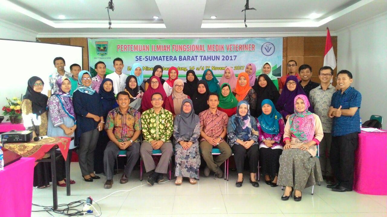 Pertemuan Ilmiah Fungsional Medik Veteriner se Sumatera Barat Tahun 2017