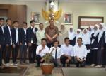 Pelajari Fungsi Legislatif, Mahasiswa IAIN Batusangkar ke DPRD Sumbar