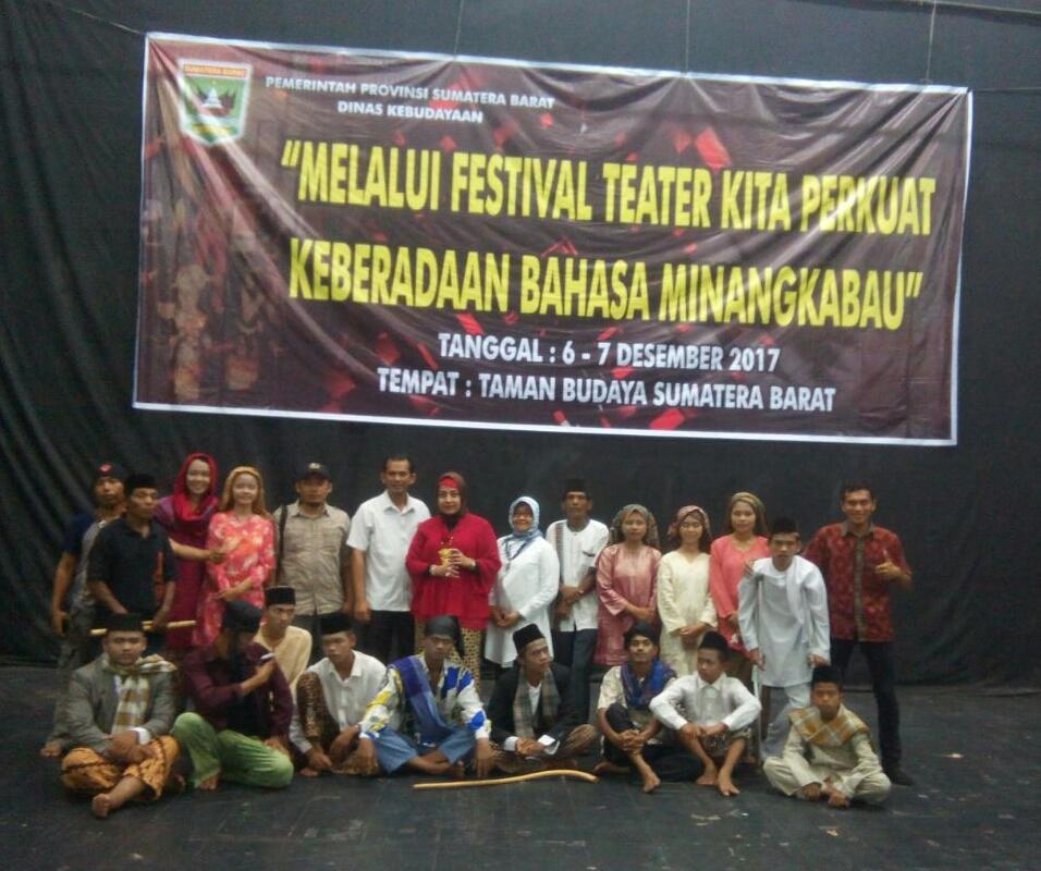 Lestarikan Bahasa Minang, Disbud Sumbar Adakan Festival Teater Berbahasa Minang
