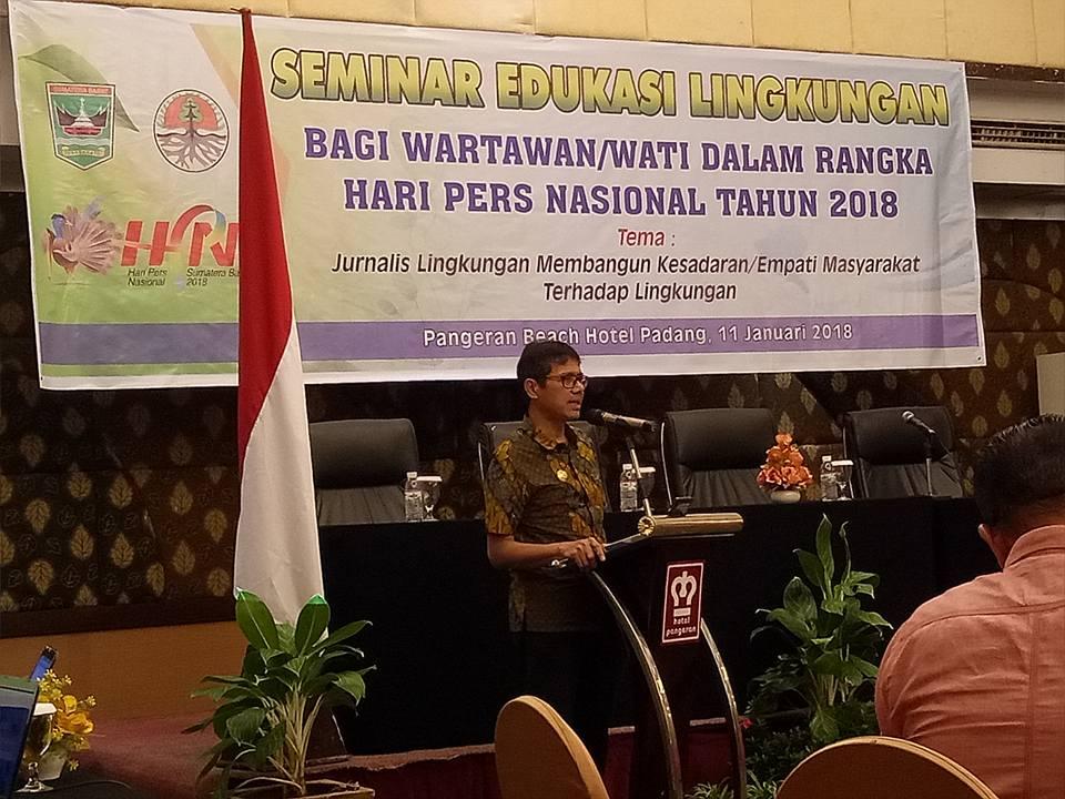 Gubernur Irwan Prayitno : Mari Kita Suksekan HPN 2018 Di Sumatera Barat