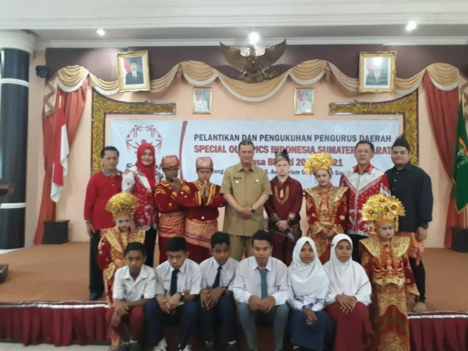 Wagub Nasrul Abit : Pengurus SOIna Sumbar di Kukuhkan.
