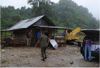 Tambang Illegal di Padang Pariaman