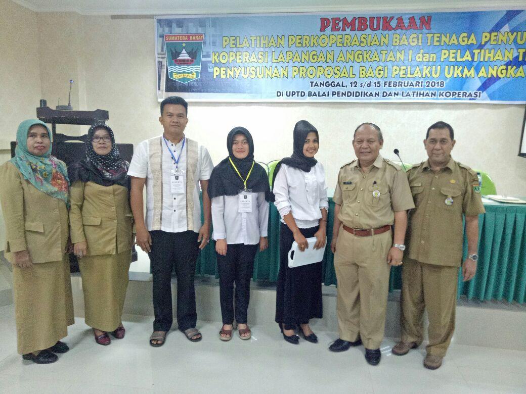 Pelatihan Perkoperasian bagi Tenaga PPKL dan Pelatihan Teknis Penyusunan Proposal bagi UMKM