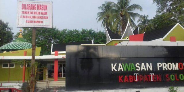 Gedung Promosi Solok Nan Indah Belum Berfungsi Maksimal