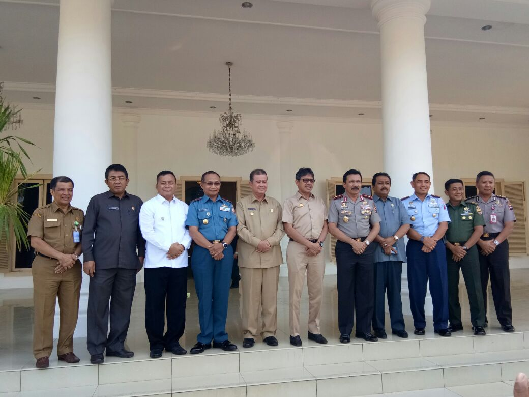 Bahas Situasi Daerah, Gubernur Sumbar Gelar Pertemuan Dengan Forkopimda.
