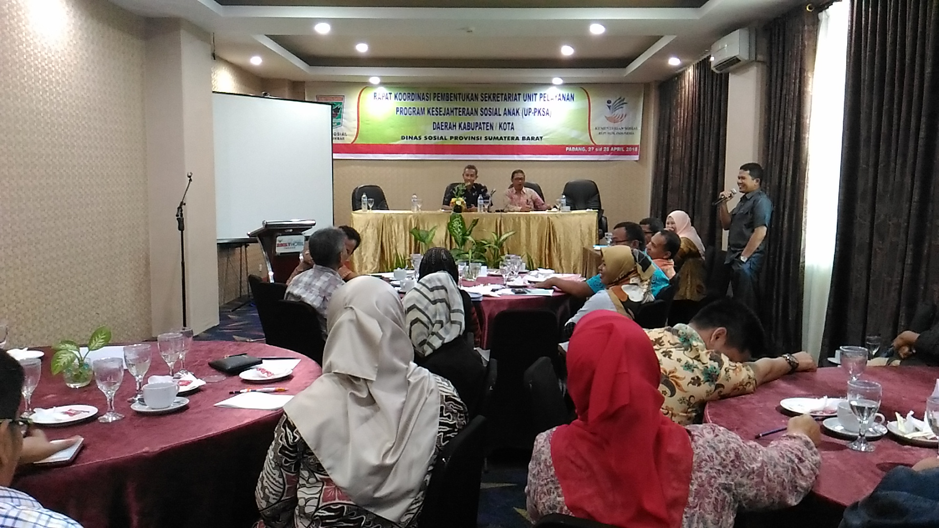 Rakor Pembentukan Sekretariat UP-PKSA