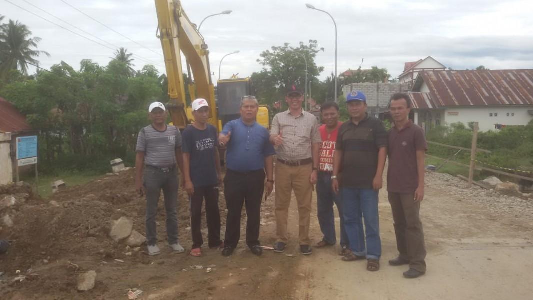 Perbaikan Jembatan Pasia Nan Tigo Terwujud